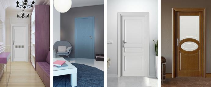 Jakie drzwi wewnętrzne i zewnętrzne wybrać - mnogość wzorów i kolorów