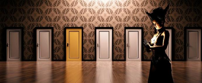 Jakie drzwi wewnętrzne i zewnętrzne wybrać? Dobór drzwi pod kątem wnętrza.