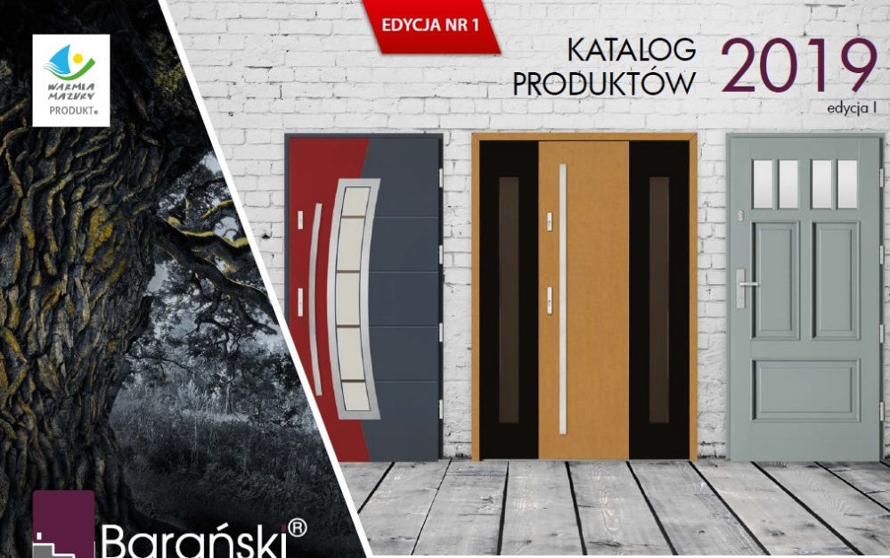 najnowszy katalog drzwi Barański na 2018