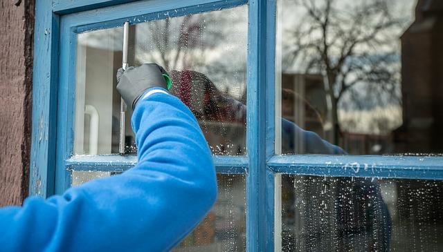mycie okien na zimę