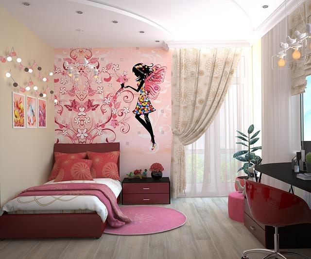 jak dekorować ściany w sypialni